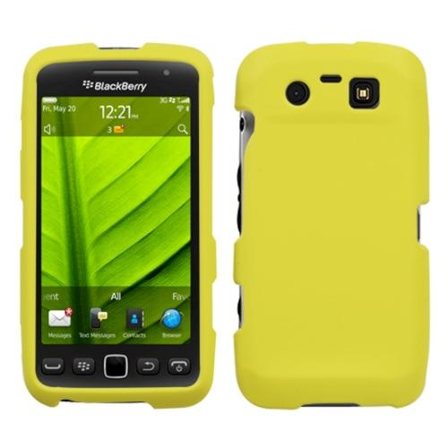 INSTEN Yellow Phone Case Cover Rubberized For RIM BLACKBERRY 9850 Torch 9860 Torch