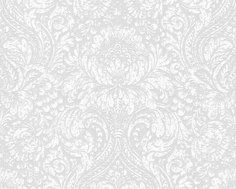 Blanc The Fascination Of Elegant White Wallpaper Roll Wall Decor For Living Room Bedroom