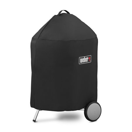 Weber 22 Inch Charcoal Grill Premium Black Cover