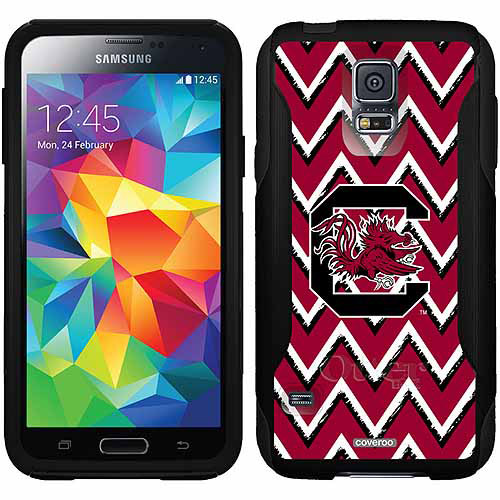 South Carolina Sketchy Chevron Design on OtterBox Commuter Series Case for Samsung Galaxy S5