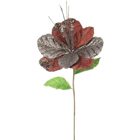 "Vickerman 22"" Mocha Amaryllis, 10"" Flower, 6/Bag"