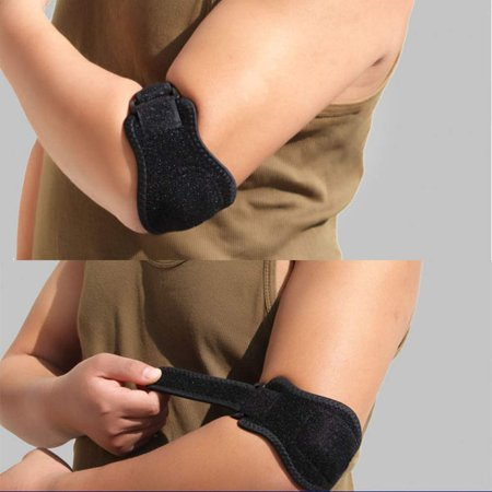 GLiving Counter-Force Strap, Support for Tennis & Golfers Elbow, Tendinitis, Lateral & Medial Epicondylitis Pain – Includes Bonus Wrist (Lateral And Medial Epicondylitis Of The Elbow)