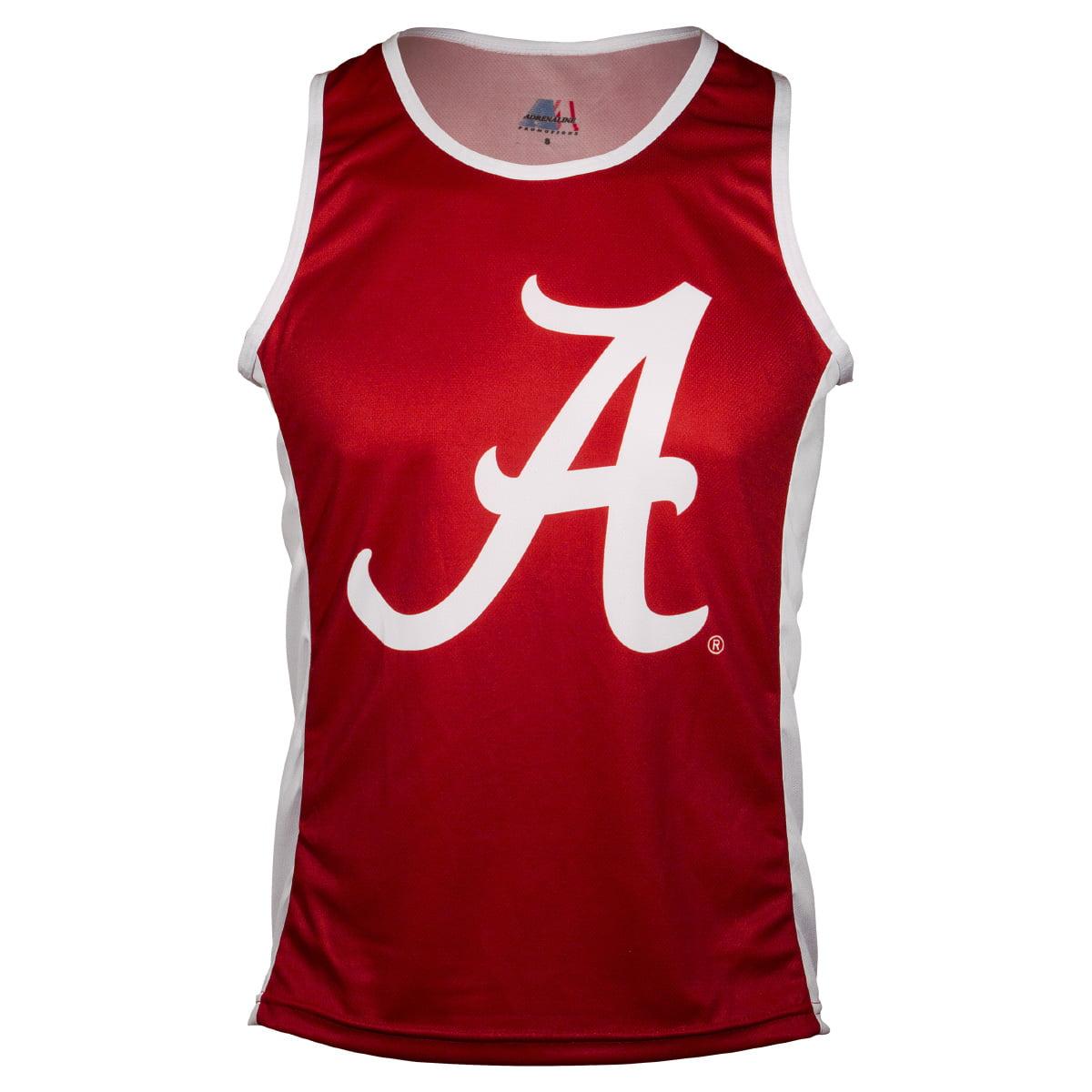 Adrenaline Promotions University of Alabama Crimson Tide Run/Tri Singlet