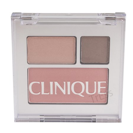 Clinique All About Shadow Duo & Blushing Blush, E0 Chocolate Dark/16 Day into Date & 01 New Clover, Travel (Sonia Kashuk Chic Luminosity Bronzer Blush Duo)