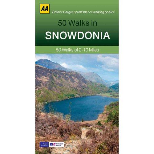 50 Walks in Snowdonia & North Wales: 50 Walks of 2-10 Miles