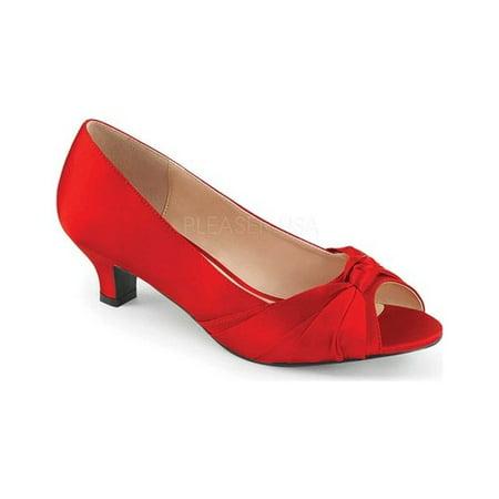 Pleaser Shoes Sale (Women's Pleaser Pink Label Fab 422 Open-Toe)