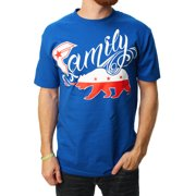 Famous Stars And Straps Men's Family Bear Graphic T-Shirt