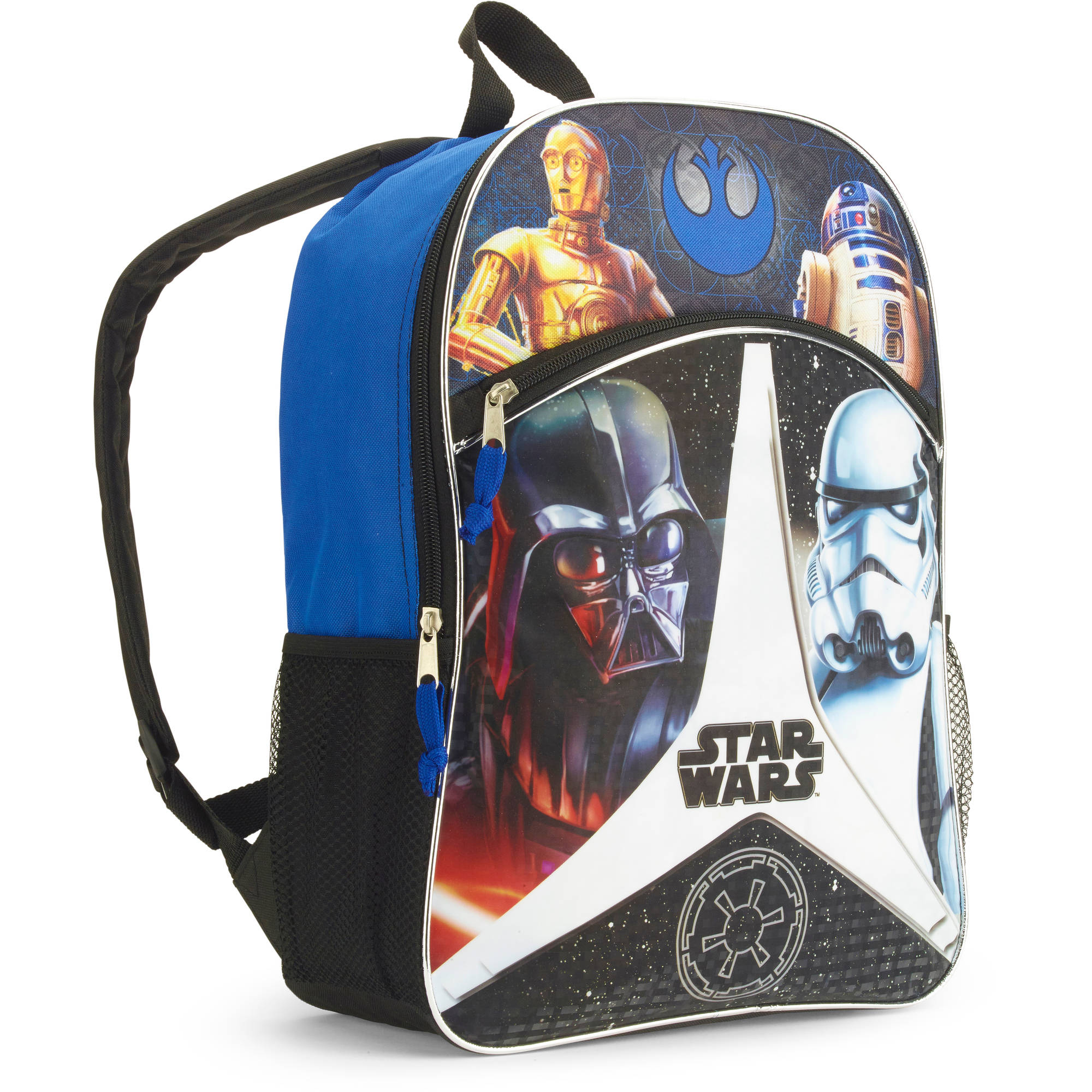 "Star Wars Kids Two-Compartment Backpack, 16"" by"