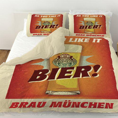 Manual Woodworkers & Weavers Bier Brau Munchen Duvet Cover