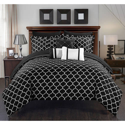 Chic Home Edney 10-Piece Bed-in-a-Bag Comforter Set