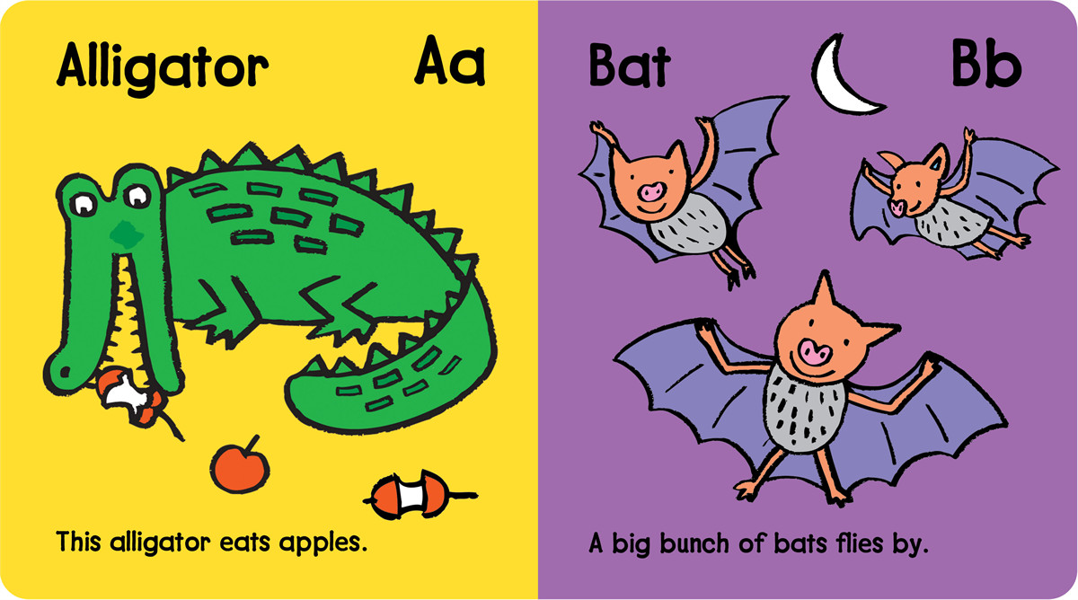 A B C Animals Teach Me! Illustrated
