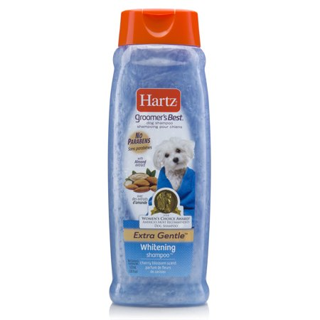 Hartz groomer's best whitening shampoo for dogs, 18-oz (Best Hypoallergenic Dog Shampoos)