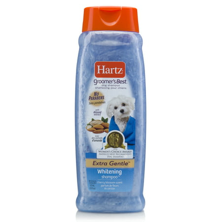 Hartz groomer's best whitening shampoo for dogs, 18-oz (The Best Flea Shampoo For Dogs)