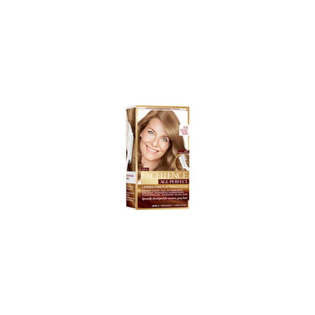 L'Oreal Paris Excellence Age Perfect Hair Color for Gray Hair, Light Soft Neutral