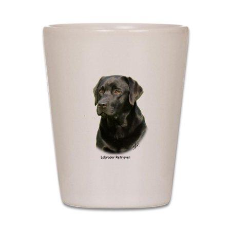 CafePress - Labrador Retriever 9A054D-23A - White Shot Glass, Unique and Funny Shot