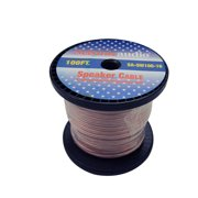 Seismic Audio  - 100 Foot Spool of Speaker Wire - 16 Gauge - New - Home Audio Red - SA-SW100-16