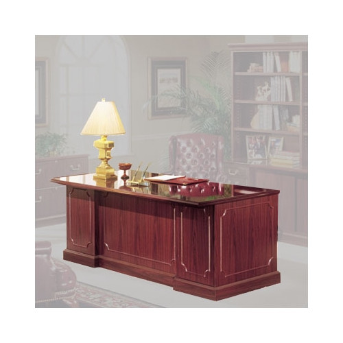High Point Furniture Bedford Executive Desk with Single Pedestal