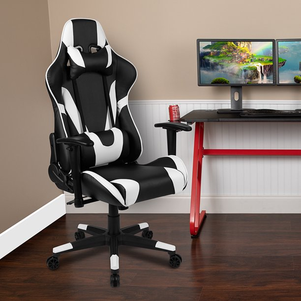 BlackArc Z200 Black Racing Gaming Ergonomic Chair with Fully Reclining Back