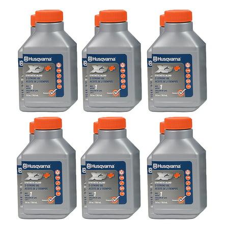 Husqvarna 1XP+ 12pk 2.6oz Bottles Two Stroke Cycle XP+ Oil Fuel Stabilizer 50:1 Synthetic