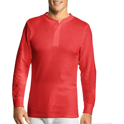 Hanes Men's X-Temp Thermal Underwear Henley by Hanes