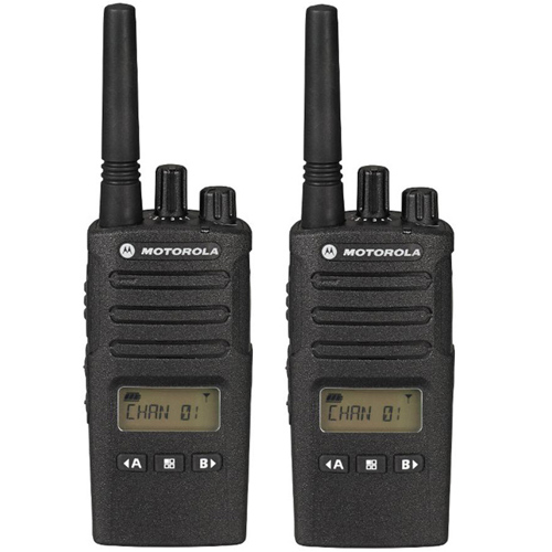 Motorola RMU2080D (2 Pack) Two Way Radio - Walkie Talkie