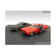 Mechanic Sean Figure For 1:24 Diecast Model Cars by American Diorama
