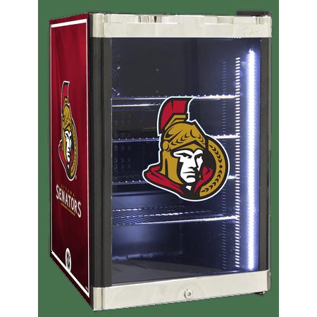 NHL Refrigerated Beverage Center 2.5 cu ft Ottawa Senators by