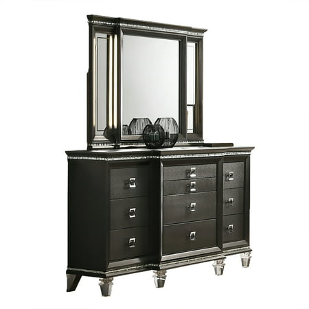 Bellagio 10 Drawer Dresser & Mirror