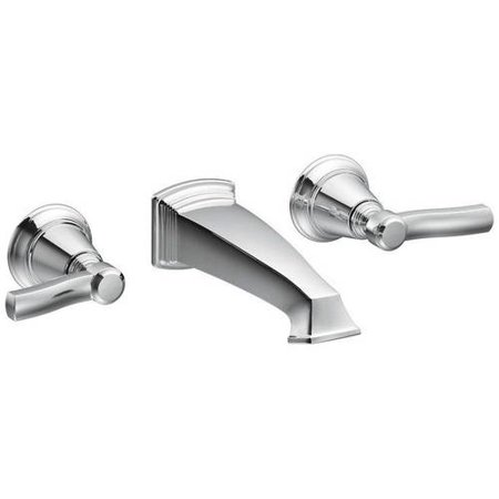Moen TS6204ORB Rothbury Double Handle Vessel Or Wall Mounted Bathroom Faucet