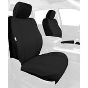 Fia Inc. SP87-27 BLACK FIASP87-27 BLACK 09-16 ECONOLINE SP FRONT BUCKET SEAT COVER BLACK