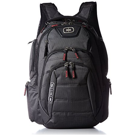 OGIO Renegade RSS Day Pack, Large, Black Pindot (Ogio Stand)