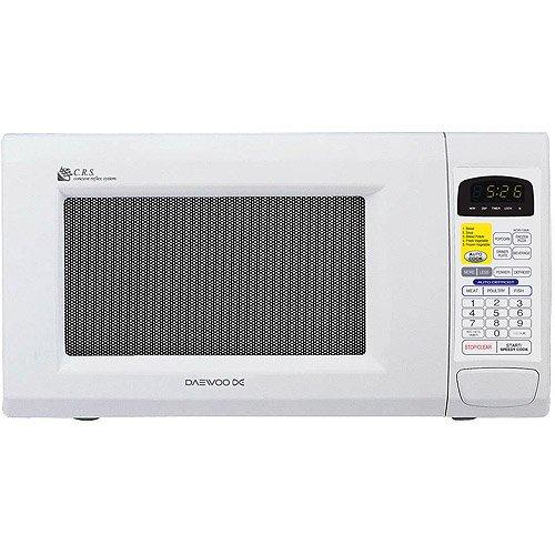Daewoo 1 3 Cu Ft Microwave Oven White Walmart Com