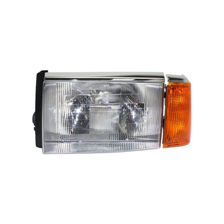 NEW DRIVER SIDE HEADLIGHT FITS WHITE/GMC HEAVY DUTY TRUCK WIA 1988-97