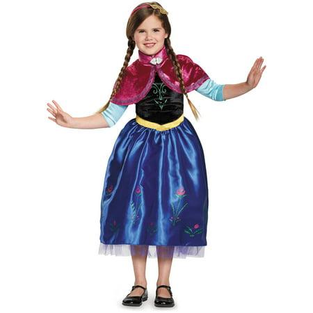 disney frozen anna deluxe child halloween costume - Halloween Anna Costume