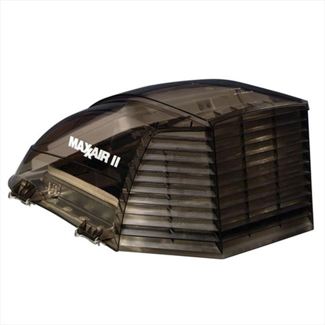 MAXXAIR VENT 933073 Roof Vent Cover With Smoke Polyethylene