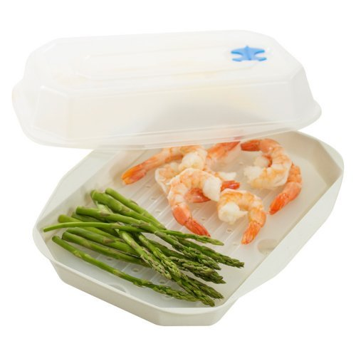 Nordic Ware Microwaveable Vegetable / Seafood Steamer