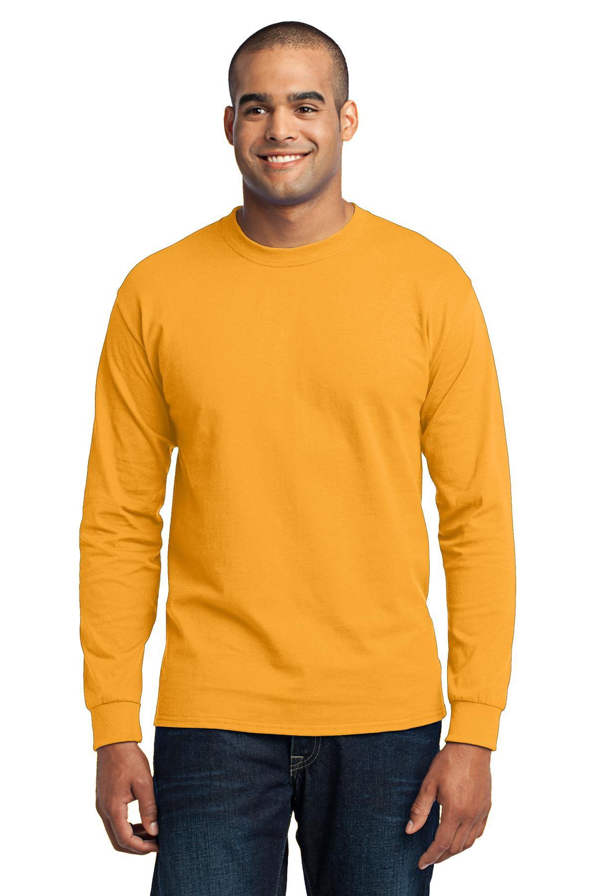 Port & Company Men's Big And Tall Shrink Resistant T-Shirt