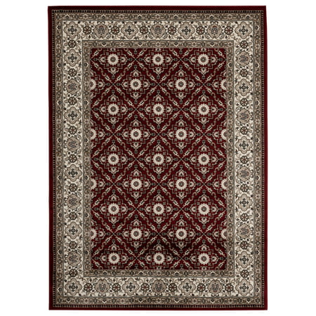 - Lapis Rugs Area Rug 4x5 Antique Vintage Collection Oriental Low Pile Turkish Carpet Diamond ( 4' 3