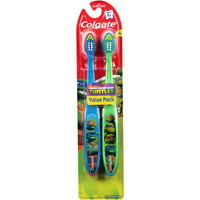 Colgate Kids Toddler Toothbrush, Ninja Turtles TMNT - 2 Count