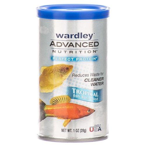Wardley Advanced Nutrition Perfect Protein Tropical Fish Flake Food 1 oz