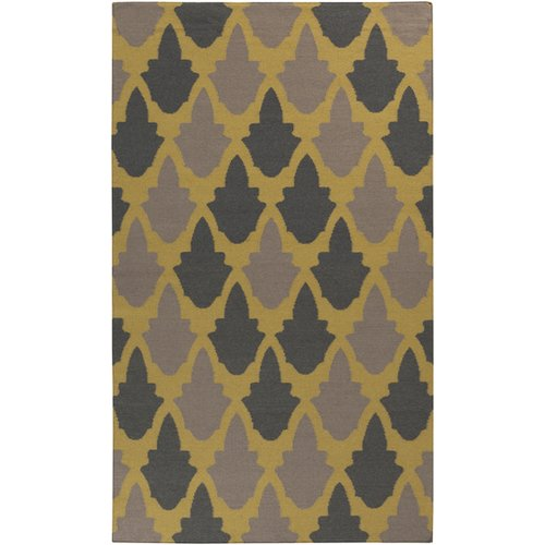 Surya Frontier Brown/Tan Geometric Area Rug