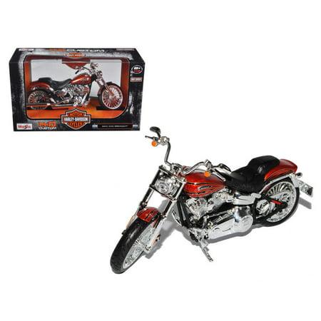 - Maisto Harley Davidson 2014 CVO Breakout Diecast Motorcycle Cruiser 1:12