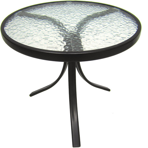 Delicieux Mainstays Round Outdoor Glass Top Side Table   Walmart.com