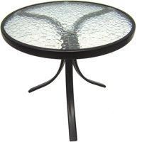 Product Image Mainstays Round Outdoor Gl Top Side Table