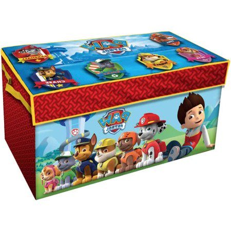 Paw Patrol Oversized Soft Collapsible Storage Toy Trunk