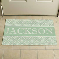 "Personalized Elegant Family Doormat, 24"" x 36"""