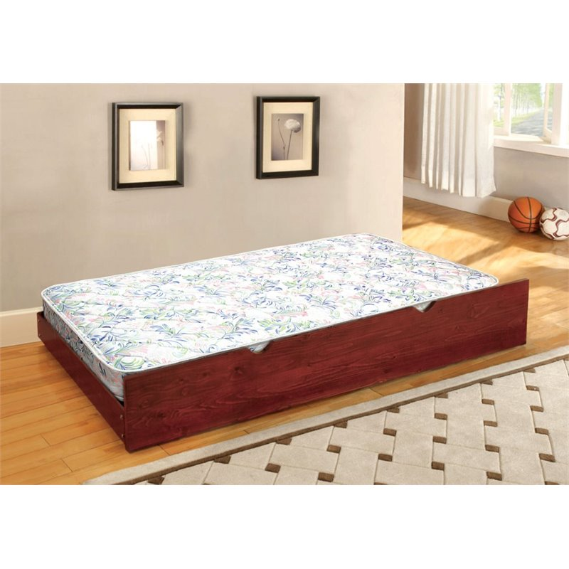 Furniture of America Villacorta Twin Quilted Coil Trundle Mattress