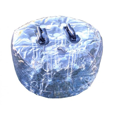 Clear Inflatable Ball (Pogo Zorb Ball Donut Plug for Inflatable Giant Hamster)