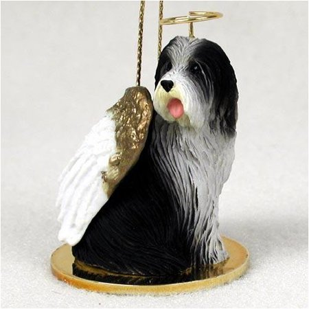 Bearded Collie Tiny Ones Dog Angels (2 in), Each figurine is carefully hand painted for that extra bit of realism. By Conversation Concepts Ship from US