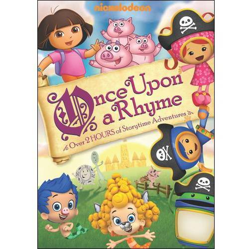 NICKELODEON FAVORITES-ONCE UPON A RHYME (DVD)